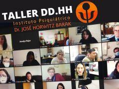 Con amplia participación Instituto Horwitz realizó 1er taller de Derechos Humanos en Salud Mental