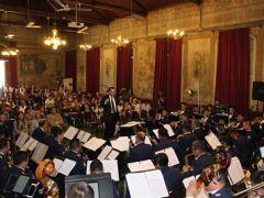Banda Sinfónica de la FACH brindó concierto para comunidad del Psiquiátrico