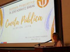Instituto Psiquiátrico rindió Cuenta Pública Gestión 2018