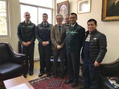 Instituto Psiquiátrico refuerza coordinación con Gendarmería para seguridad en Unidad de pacientes Imputados