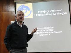 """Charla de Extensión 2019  UCD : """"Pareja y consumo Problemático de Drogas"""""""